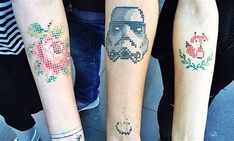 tatouages en points de croix actualit 233 tattoos fr