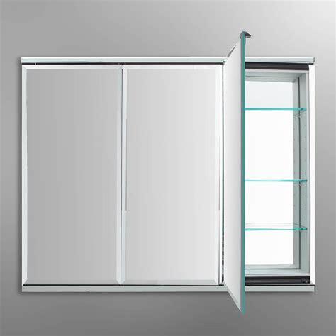 3 way mirror cabinet robern tfc4838 c medicine cabinet