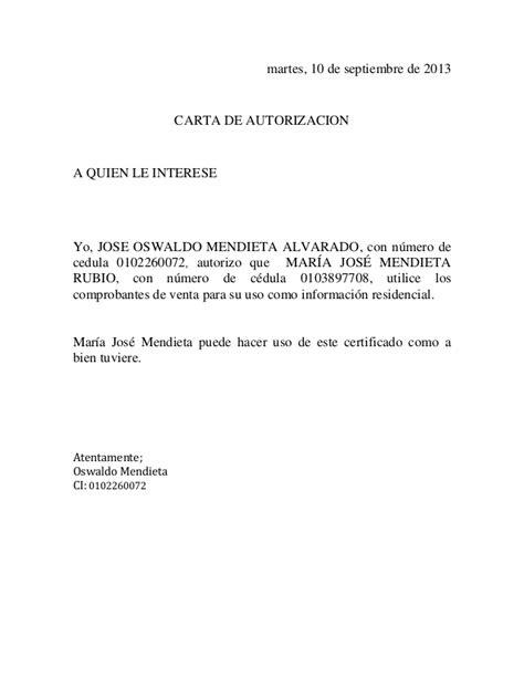 carta de autorizacion mercadopago carta de autorizacion