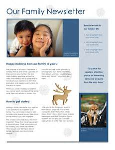 Family Newsletter Templates Free newsletter templates free create edit fill and print