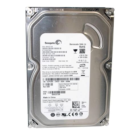 Harddisk Seagate 160gb drive dell seagate st3160815as 160gb 7200 rpm sata ii jp208