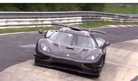 car pushing the limits koenigsegg koenigsegg one 1 testing it s limits on nurburgring