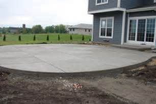 Backyard Landscaping Fire Pit New Berlin Wi Concrete Patio Installation Jbs Construction