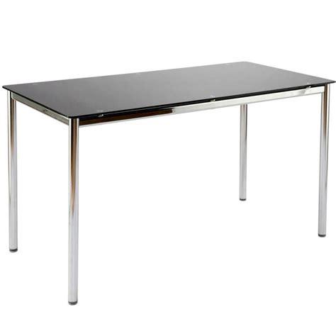Black And Chrome Computer Desk Black And Chrome Desk Best Home Design 2018