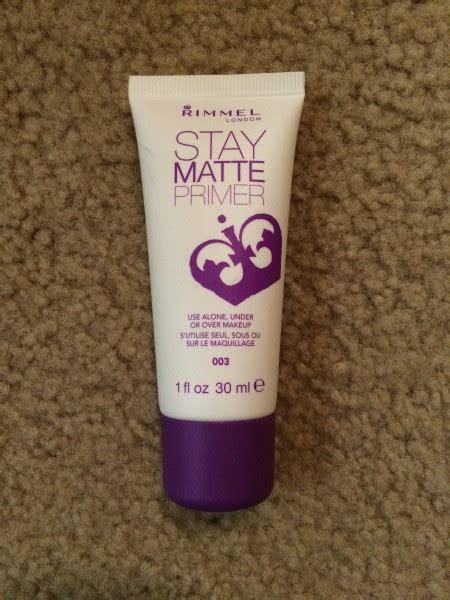 Terbaru Rimmel Stay Matte Primer review rimmel stay matte primer the makeup