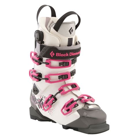 womans ski boots black shiva ski boots s 2012 evo outlet