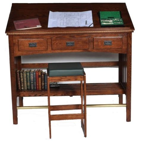 draft table desk mission library desk drafting table