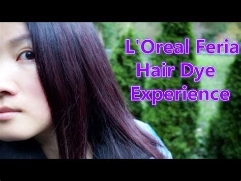 chocolate cherry and deep burgundy bown color pont tials extensions l oreal feria hair color in chocolate cherry deep