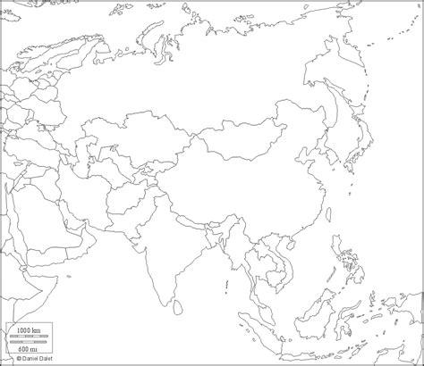 Blind Map Of Asia schoolspace geografia le cartine mute