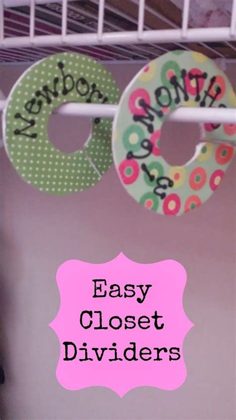 Nursery Closet Dividers Diy by 25 Best Ideas About Baby Nursery Closet On