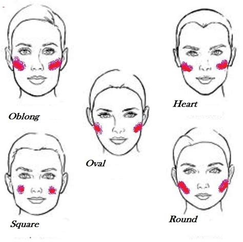 apple shaped face hair cut top 9 tips for cheeks makeup the easy way