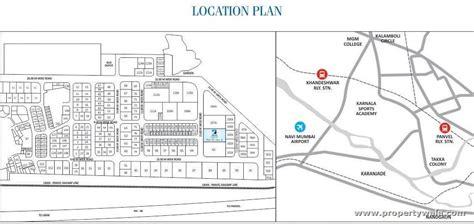 cidco layout plan karanjade space india blue crest panvel navi mumbai apartment