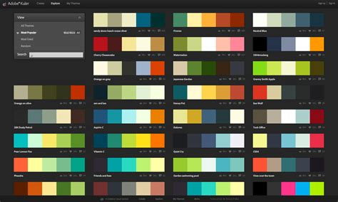 designer color palettes graphic design branding elements resources eyeflow
