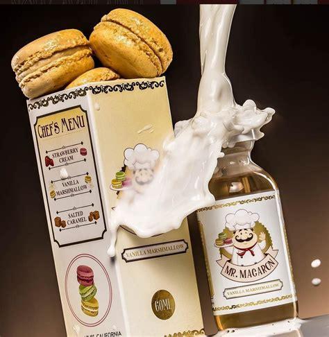 Premium Liquid Mr Baker Juice 60ml 10 Flavours mr macaron vanilla marshmallow e liquid 60ml premium e juice