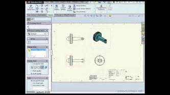 solidworks tutorial introduction intro to drawings solidworks tutorials drawings youtube