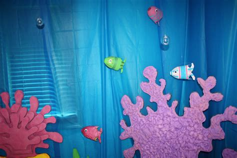 eager little mind under the sea decorations for vbs