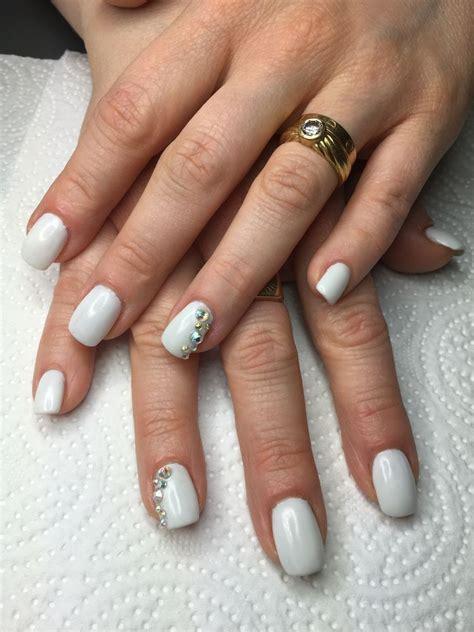 Ongle Blanc Gel by Ongles En Gel
