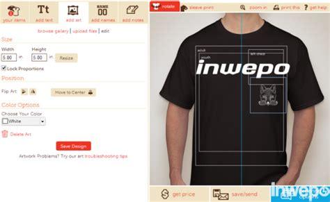 game design baju online cara mudah buat design baju online inwepo