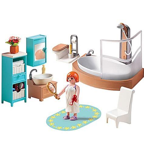 playmobil bathroom playmobil 174 grand bathroom set buybuy baby