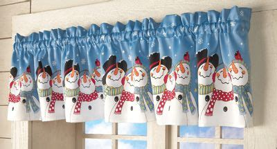snowman kitchen curtains festive snowman window valance snowman decorations