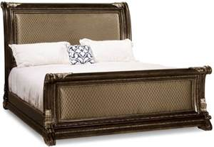 Upholstered Sleigh Bed King Gables Upholstered King Sleigh Bed From 245146 1707 Coleman Furniture
