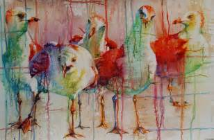 bird paintings carteret contemporary and vision gallery news