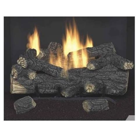 Emberglow Vent Free Fireplace by Emberglow Oak 18 In Vent Free Propane Gas Fireplace Logs With Remote For Sale In