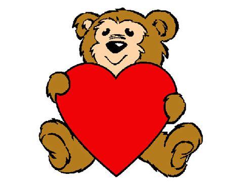 imagenes de osos del dia del amor y la amistad dibujos de amor para colorear dibujos net