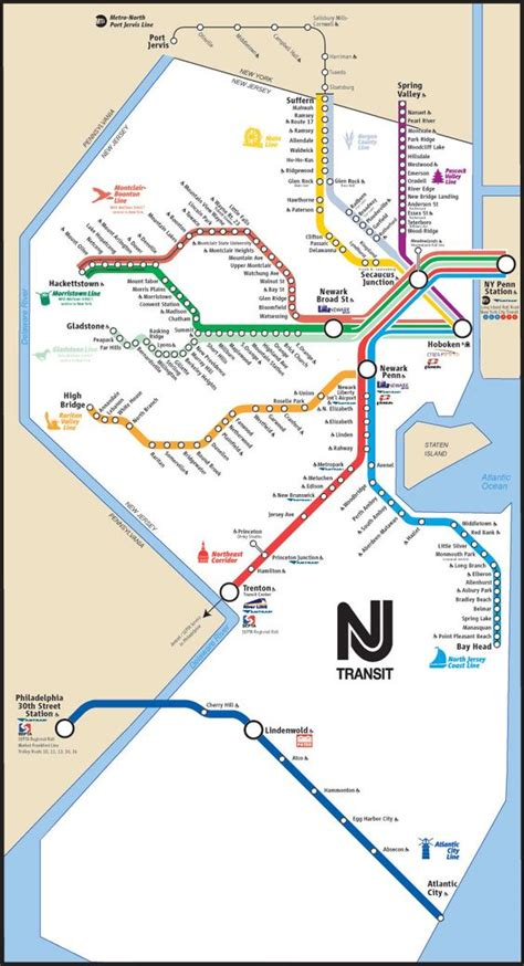 new jersey transit map nj transit map tres important travel sources trains rides and maps