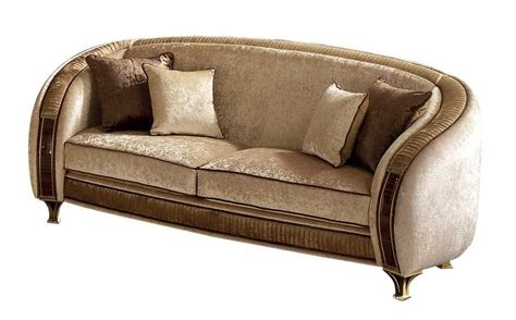 Sofa In The Belle Epoque Style Pliss Processing And