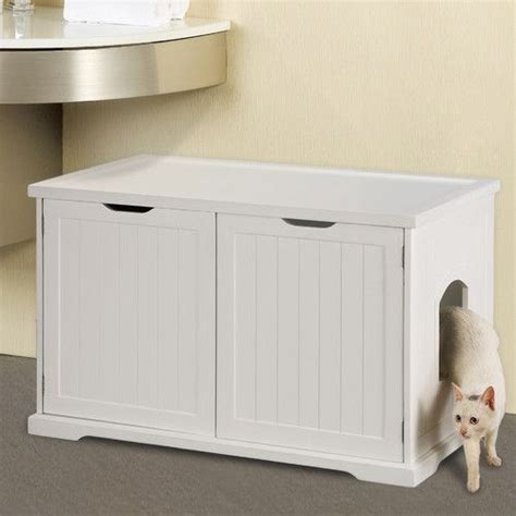 cat furniture litter box bench kitty condo bench cats cat litter boxes and litter box