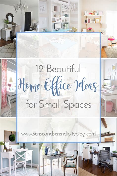 beautiful home office ideas  small spaces sense