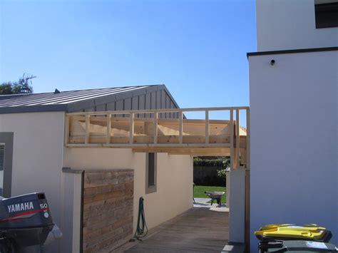 veranda entre 3 murs extension preau veranda carport dam menuiseries theix vannes