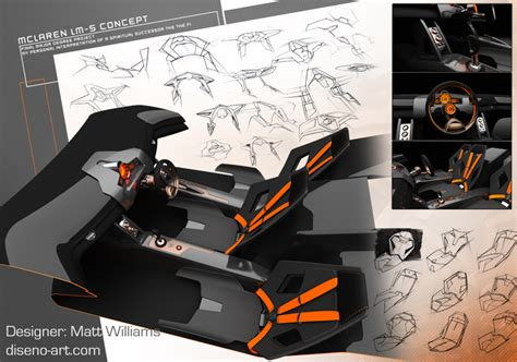 mclaren lm5 concept mclaren lm5 concept by matt wlliams news top speed
