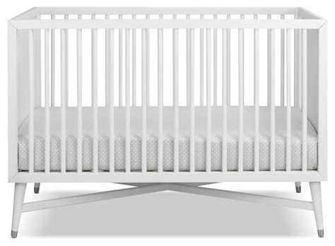 Finley Convertible Crib White Leon S White Convertable Crib