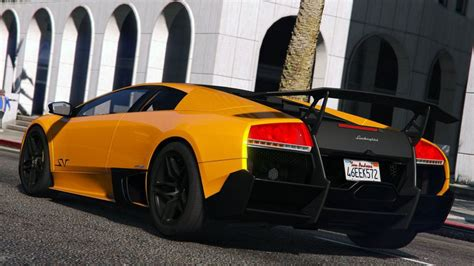 inside lamborghini murcielago gta 5 lamborghini murcielago lp 670 4 superveloce add on