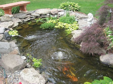 Garden Pond Kits - small koi pond kits garden pond and koi pond aeration
