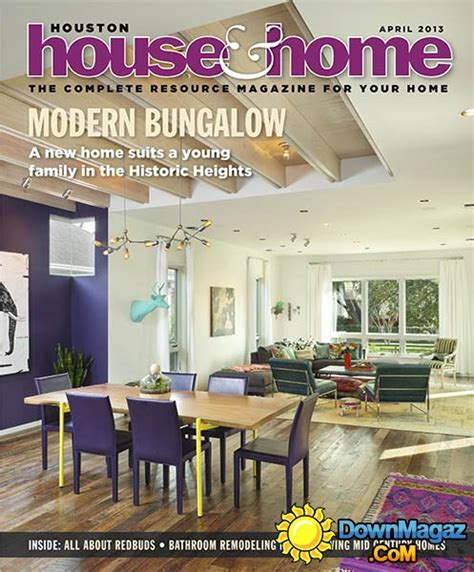 houston home design magazine houston house home april 2013 187 download pdf magazines