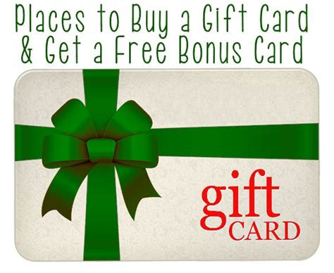 How To Get A Gift Card For Free - how to get free bonus gift cards mother s home