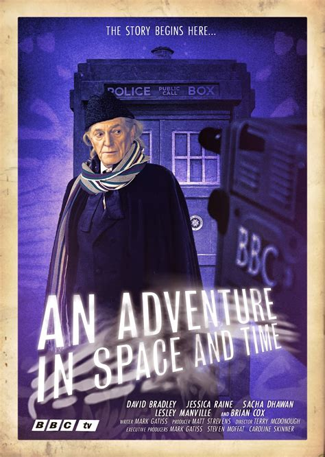 An Adventure In Space And Time 2013 Film Blogtor Who An Adventure In Space Time Poster Art