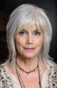 70 year with grey hair hairstyles 70 year old woman