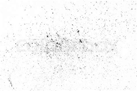 Dust In White dust particles on the white background can use as overlay