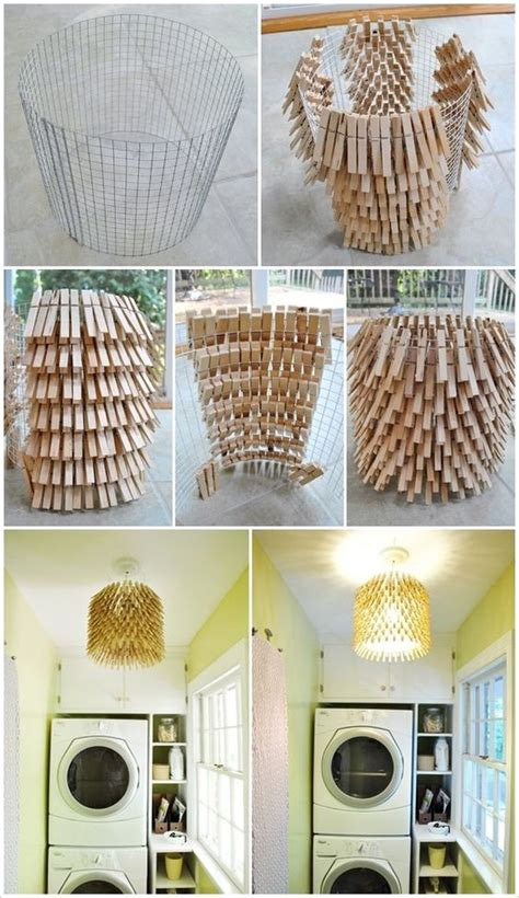 diy home ideas billig diy creative clothespin crafts that will impress you