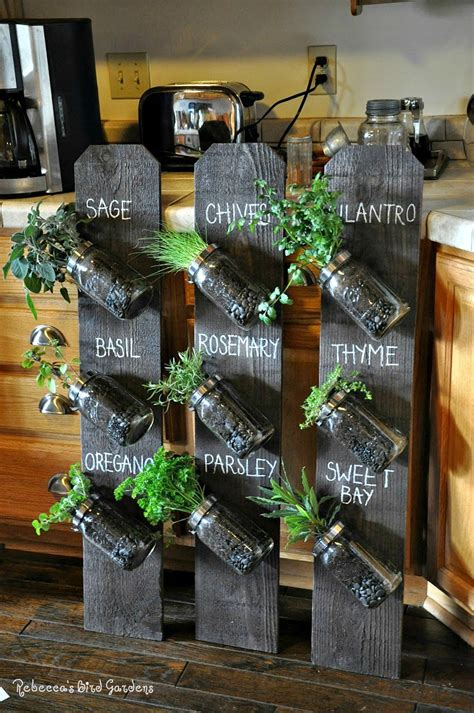 diy herb garden 10 easy diy kitchen herb gardens room bath