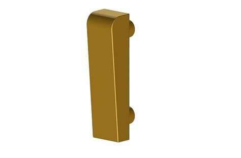 B559 Black b559 7s brass window handle wedge