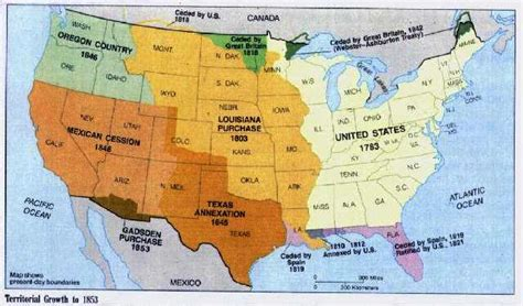 map of the united states during westward expansion englishcompositioniiwcu manifest destiny