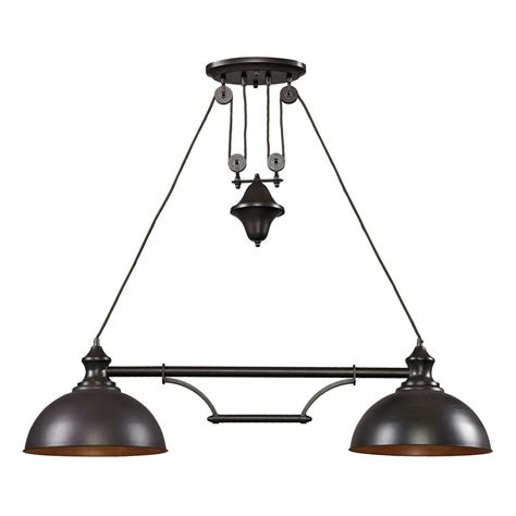 titan lighting farmhouse 2 light oiled bronze ceiling