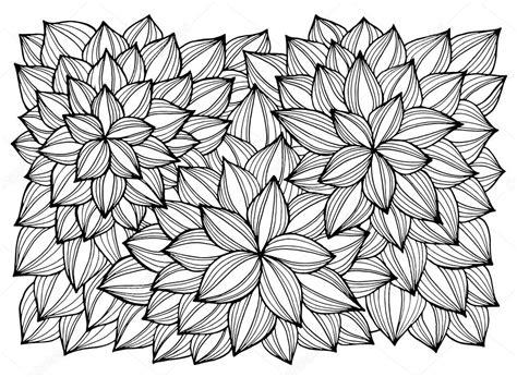 disegni astratti fiori cartolina d auguri con i fiori astratti pagina per adulti