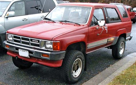 1st Toyota File 1st Toyota 4runner Jpg Wikimedia Commons