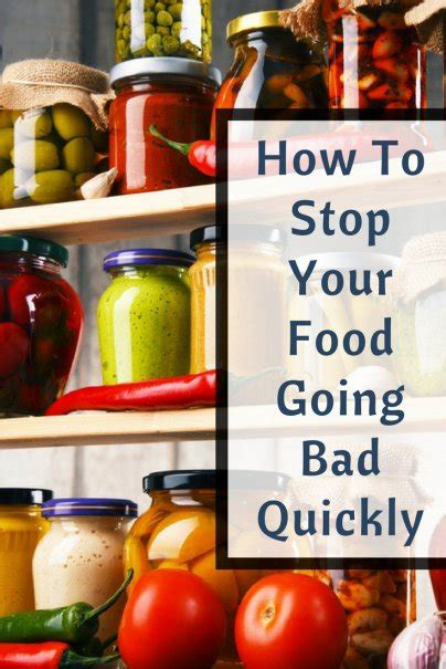 food  bad quickly heres   fix
